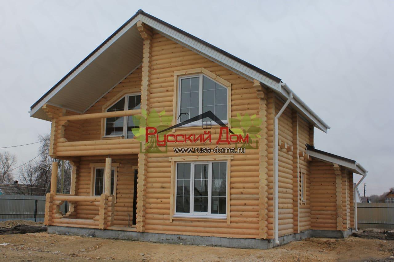 Как построить дом из бревен своими руками дешево и красиво проекты фото 369